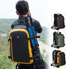 Big DSLR Camera Backpack Rucksack Travel Bag Photographers For Nikon Canon Sony