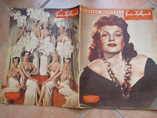 MODèes NUDISTES Paris Hollywood Rita Hayworth Nudi arte Rivista epoca