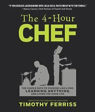 THE 4-HOUR CHEF - TIMOTHY FERRISS (HARDCOVER) NEW