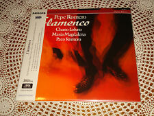 PEPE ROMERO Flamenco Audiophile PHILIPS ANALOGPHONIC 2x 180g LP 422069-1 SEALED