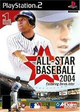 ALL STAR BASEBALL 2004              -----   pour PS2  ------