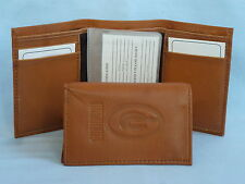 GREEN BAY PACKERS   Leather TriFold Wallet    NEW    brown 2