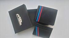 Cartera+tarjetera M color BMW (e46,e90,e92,e57,e87,e39,320,x3,x5,e30,e60) wallet