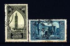 MOROCCO - 1923-1927 - Monumenti