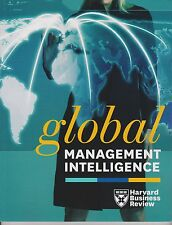 "HARVARD BUSINESS REVIEW ""GLOBAL MANAGEMENT INTELLIGENCE"" MAGAZINE 2014, SEALED."