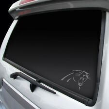 Carolina Panthers Chrome Window Graphic [NEW] Silver Sticker Decal Car Auto NFL