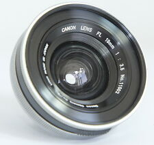 ULTRA WIDE CANON FL 19mm f3.5 19/3.5 19 3,5 MANUAL FD LENS FOR MIRROR LOCK UP