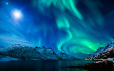 Framed Print - The Northern Lights (Aurora Borealis Iceland Norway Pole Picture)