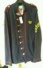 Navy military jacket M by River Island nwt