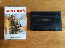 COMMODORE 64 (C64) - LIGHT FANTASTIC - ARMY DAYS - GAME