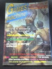 THE GAMES MACHINE 40 Marzo 1992 no zzap XENIA MITH 2 MIGHT & MAGIC  ROGER RABBIT