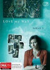 Love My Way : Series 3 (DVD, 2010, 3-Disc Set) Australian TV Drama R4 VGC