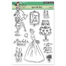 PENNY BLACK RUBBER STAMPS CLEAR SPECIAL DAY STAMP SET 2014