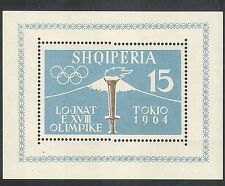 Albania 1962 Olympic Games, Tokyo/Sports/Olympics/Torch/Flame/Fuji 1v m/s n36165
