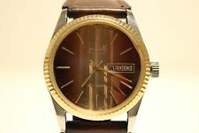 "VINTAGE RARE FOR ARABIC MARKET SWISS MEN'S ALL STEEL AUTOMATIC WATCH ""CANDINO"""