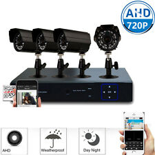 4PCS AHD 720P 1300TVL Outdoor Camera 8CH CCTV AHD 960H DVR Security System Video