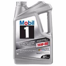 Mobil 1 15W-50 Full Synthetic Motor Oil 5 qt.