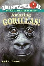 I Can Read Level 2: Amazing Gorillas! by Sarah L. Thomson (2006, Paperback)