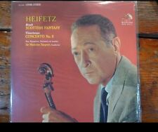 Classic Records LP 1rst Ed. New Symph. London Heifitz Scottish Fantasy Lsc2603
