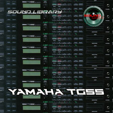 YAMAHA TG55 HUGE Original Factory & New Created Sound Library/Editors on CD