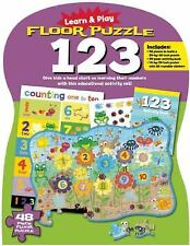 Learn and Play: Floor Puzzle 123 : Give Kids a Head Start on Learning Their...