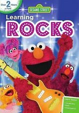 Sesame Street: Learning Rocks New/1st class shipping