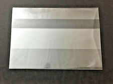 """3-Fold Price Channel Sign Holders Bendable Plastic 3.5 High  X 5"""" Wide  25 Pack"""