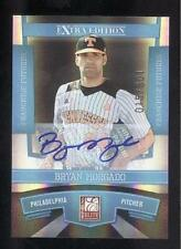 2010 Donruss Elite EE FF Signature Bryan Morgado