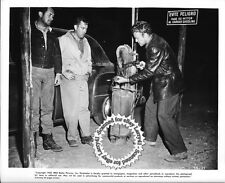 FILM NOIR Edmond O'Brien, Frank Lovejoy, William Talman, still HITCH-HIKER (1952