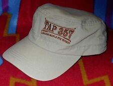 TAP 357 Canadian Maple Rye Whiskey Cap/Hat Adjustable Velcro Back By Cap America