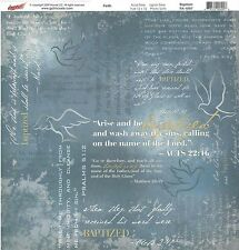 Moxxie - Baptism Scrapbooking Paper Double Sided Religious Christian
