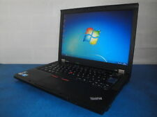 "LENOVO T410 LAPTOP I5 520M 2.4GHZ 14.1"" 160GB 4GB WEBCAM WIFI Windows 7 PRO"