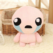 """10"""" The Binding of Isaac Soft Plush Toy Doll Lovely Pink ISSAC Gift Pillow 25cm"""