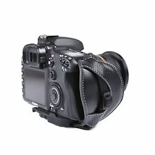 Movo HSG-6 PU Leather Padded Secure Grip Strap for Canon Nikon Sony DSLR Camera