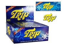 TRIP 2 King Size Clear Transparent cigarette Rolling Papers - FULL BOX 24 Packs
