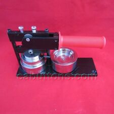 "2-1/4"" inch New Tecre Standard Heavy Duty Button Maker Machine Press + Buttons"