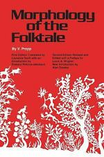 Morphology of the Folktale (Publications of the American Folklore Society), V. P