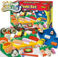 Play Dough Mold Japanese Sushi Soft Clay Plasticine Foods Fun Mode Tools Kid Toy