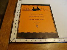 Vintage Sheet Music: DILLER QUAILE FIRST DUET BOOK For the Piano