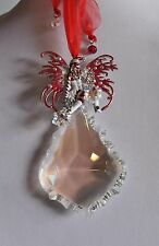 KIRKS FOLLY  CHRISTMAS  CANDY CANE FAIRY CRYSTAL ORNAMENT  NEW RELEASE