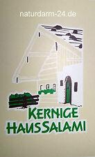 Kunstdarm, Kaliber 55/25, für Kernige Haussalami, mit Druck, 25 Stück