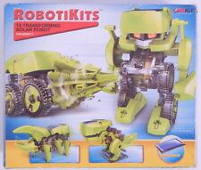 OWI Robotikits T4 Transforming Robots Solar Energy Kit NIOB R11123