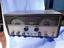 HALLICRAFTERS MODEL S-85 SHORTWAVE & AM TUBE TYPE RADIO FOUR BAND RECEIVER WORKS