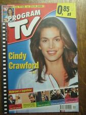 PROGRAM TV 12 (17/3/2000) GRACE JONES CINDY CRAWFORD