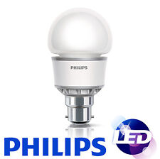 Philips 5w = 25W BC B22 Bayonet Cap LED Low Energy Saving Light Bulb Globe GLS