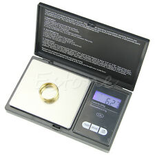 LCD Digital Pocket Mini Jewellery Scale Gram Balance Weight 200g x 0.01g