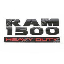 Fit For Dodge Ram 1500 Heavy Duty Fender Side Emblem Badges Nameplate Black