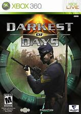 DARKEST OF DAYS XBOX 360 NEW! CIVIL WAR, WWII, WWI, BATTLE, BATTLEFIELD WARFARE