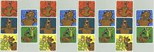 Scooby DOO and Shaggy Funny Face 20 LARGE Stickers