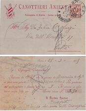 """# ROMA: testatina- 1905 PASSEGGIATA DI RIPETTA- """"CANOTTIERI ANIENE"""""""
